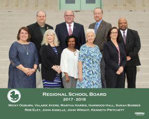 2018 members of the regional school board