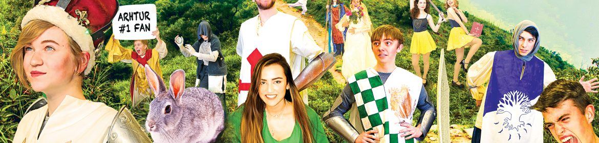 Poster for Spamalot, performed by MW Drama