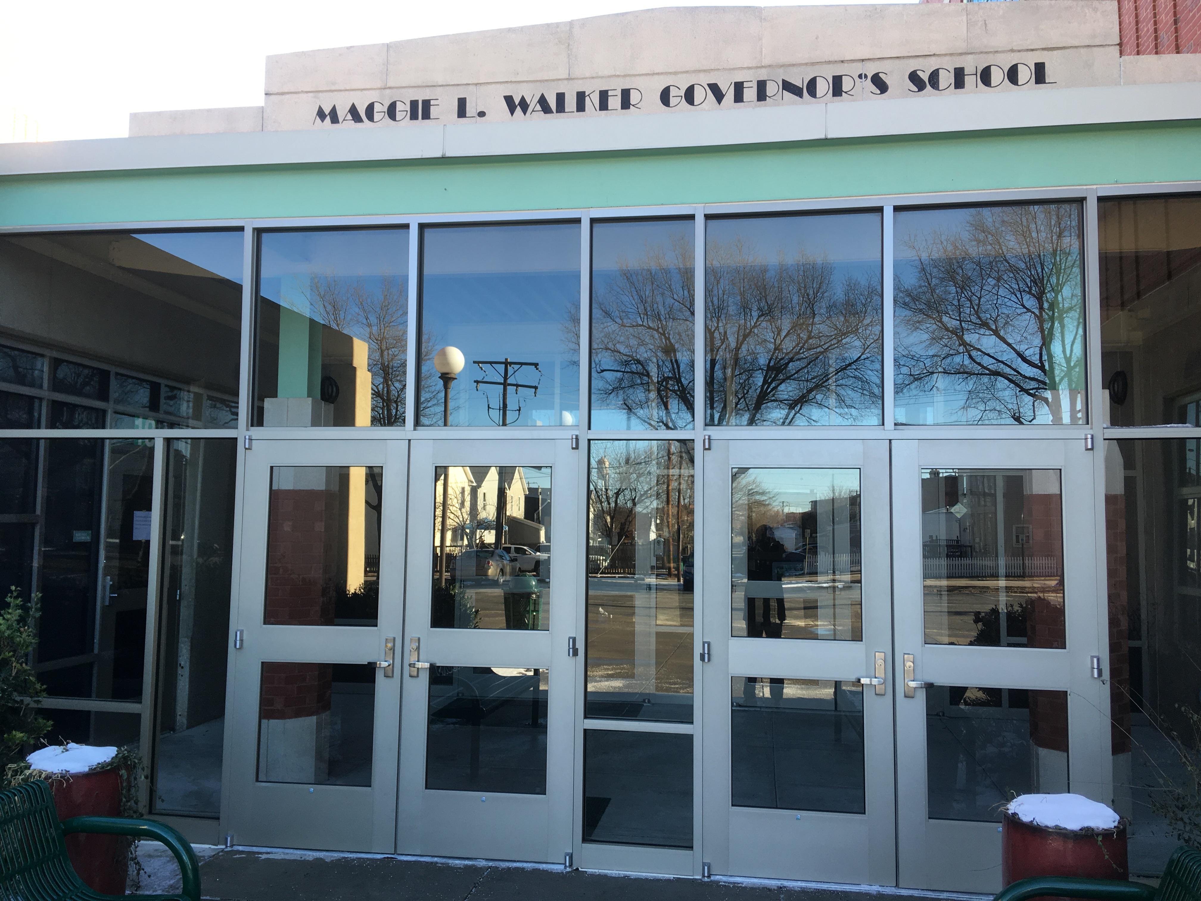 Vestibule exterior 2018 b & MLWGS Regional School Board Meeting and FY19 Budget Work Session ...