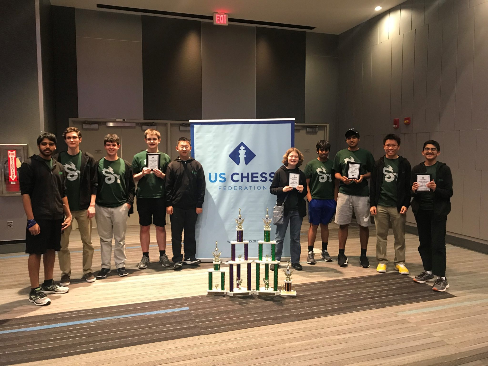 Dragon results from the National HS Chess Championship