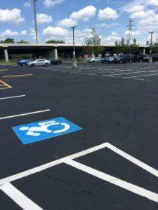 Resurfaced Parking Lot Image