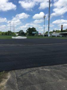 Track under construction