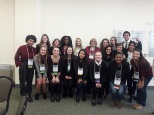 Students at JMU Conference