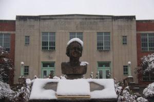 Snow-Exterior of MW Building