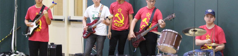 Student Pep Band Members
