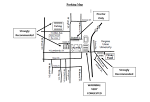 MLWGS Parking Map