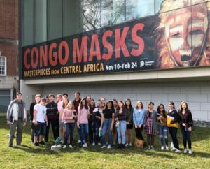 Art students at VMFA 2019