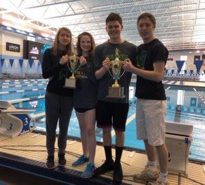 Team Captions at Regional Swim Champs