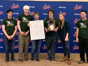 Academic Quiz Bowl 2019 State Champs