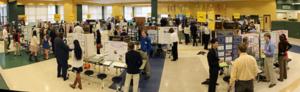 Students at STEM Fair