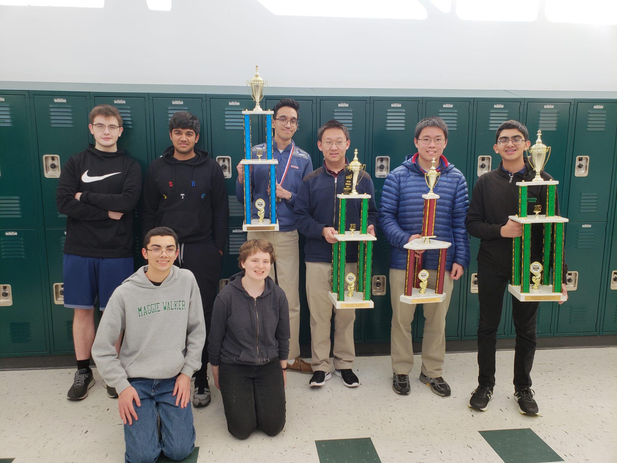 Dragon Chess at VA Scholastic K12 Championship wins 1st