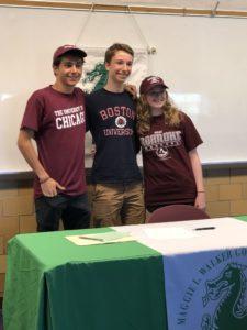 3 student athletes