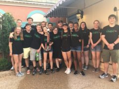 Students at Busch Gardens