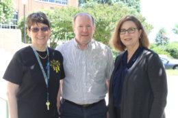 3 departing teachers for retirement