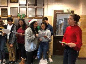 Caroling 2019 in French