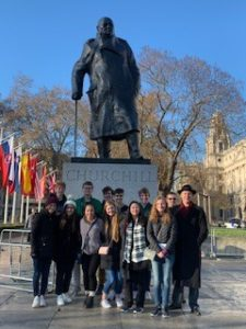 MW Students in London